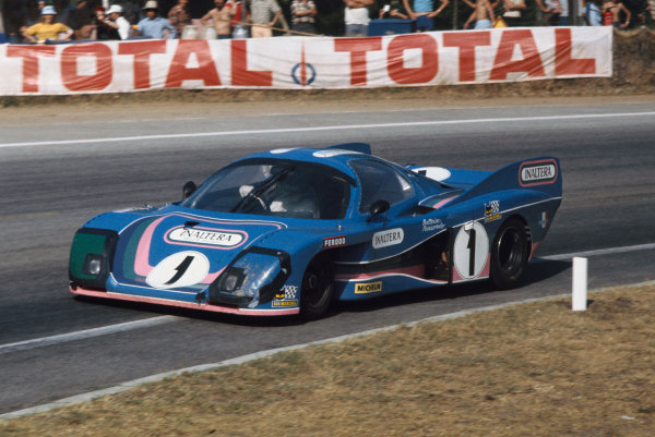 1976 Le Mans 24 hours. Le Mans, France. 12th - 13th June 1976. Henri Pescarolo / Jean-Pierre Beltoise (Inaltera Ford), 8th position, action.  World Copyright: LAT Photographic.
