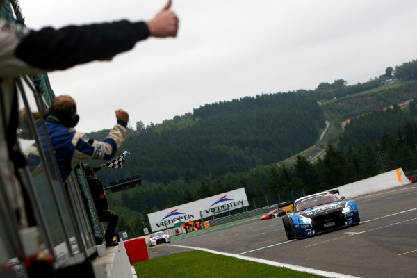 2014 Avon Tyres British GT Championship, Spa Francorchamps, Belgium. 11th - 12th July 2014. Marco Attard / Alexander Sims Ecurie Ecosse BMW Z4. World Copyright: Ebrey / LAT Photographic.