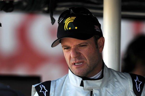 Rubens Barrichello (BRA) KV Racing. Rubens Barrichello IndyCar Test, Sebring, Florida, USA, Tuesday 31 January 2012.