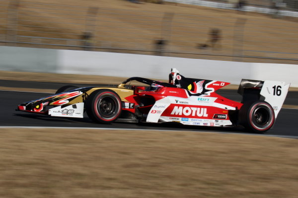 Pole position driver Tomoki Nojiri ( #16 TEAM MUGEN, Dallara SF19 Honda )