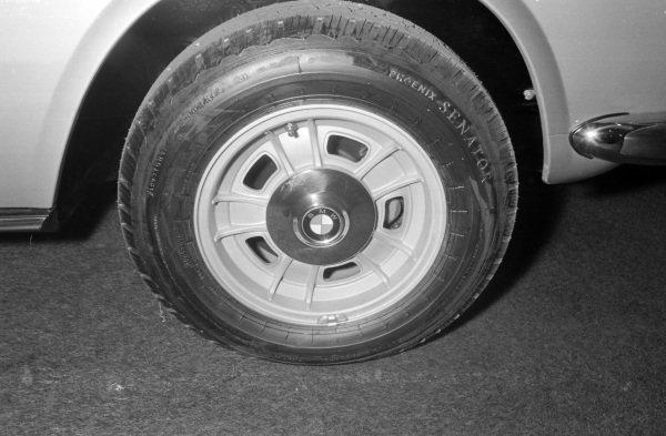 A BMW alloy wheel design.