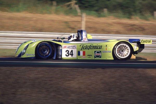 2000 Le Mans 24 Hours.Le Mans, France.17-18 June 2000.Jean-Christophe Boullion/Jordi Gene/Jerome Policand (Reynard 2KQ-LM-Volkswagen).World - LAT Photographic