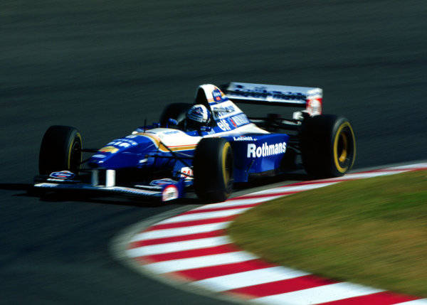 1995 Japanese Grand Prix.Suzuka, Japan.27-29 October 1995.David Coulthard (Williams FW17B Renault).World Copyright - LAT Photographic