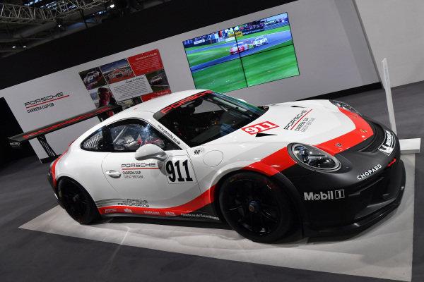Porsche 911 GT3 Rat Autosport International, Day One, NEC, Birmingham, England, Thursday 11 January 2018.