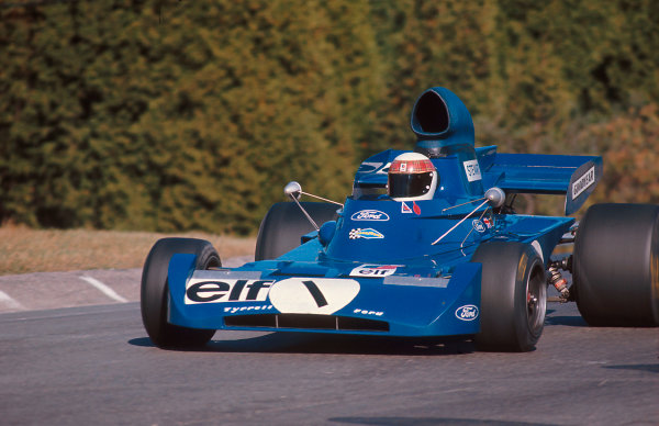 1972 Canadian Grand Prix.Mosport Park, Ontario, Canada.22-24 September 1972.Jackie Stewart (Tyrrell 005 Ford) 1st position.Ref-72 CAN 02.World Copyright - LAT Photographic