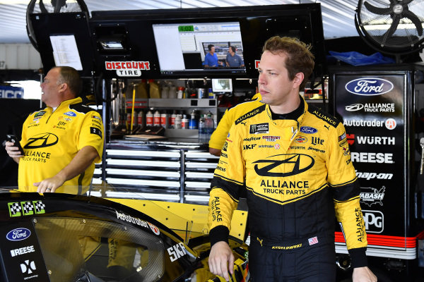 #2: Brad Keselowski, Team Penske, Ford Mustang Alliance Truck Parts