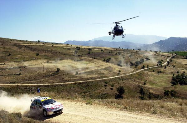 2001 World Rally ChampionshipCyprus Rally June 1-3, 2001Didier Auriol on Stage 2Photo: Ralph Hardwick/LAT