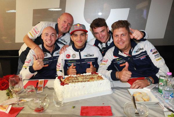 Jorge Martin, Del Conca Gresini Racing birthday cake.