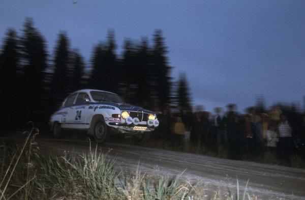 Heikki Vilkman / Markku Jaakkola, Saab 96 V4.