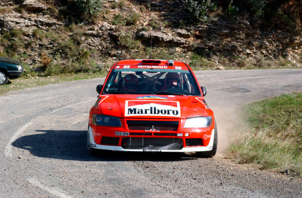 2002 World Rally ChampionshipRally Catalunya, 21st-24th March 2002.Alister McRae on Stage 5.Photo: Ralph Hardwick/LAT