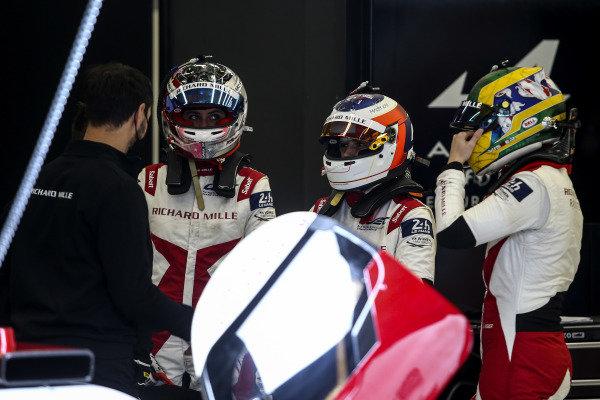 #1 Richard Mille Racing Team Oreca 07 - Gibson: Tatiana Calderon, Sophia Floersch, Beitske Visser