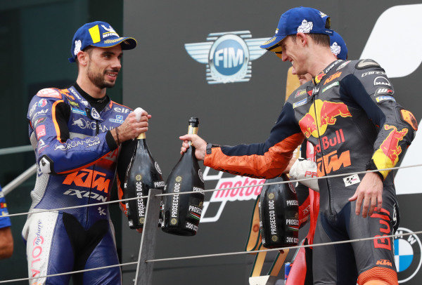 Miguel Oliveira, Red Bull KTM Tech 3,  Pol Espargaro, Red Bull KTM Factory Racing  .