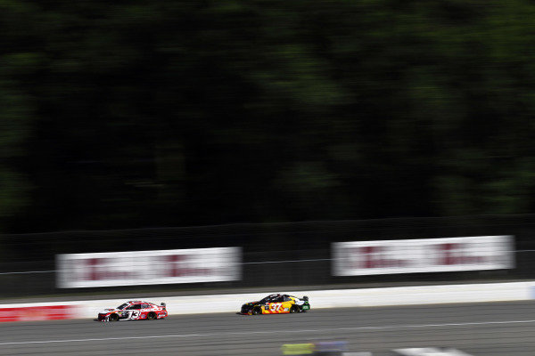 #13: Ty Dillon, Germain Racing, Chevrolet Camaro K&L Ready Mix and #37: Chris Buescher, JTG Daugherty Racing, Chevrolet Camaro Kroger Fast Start