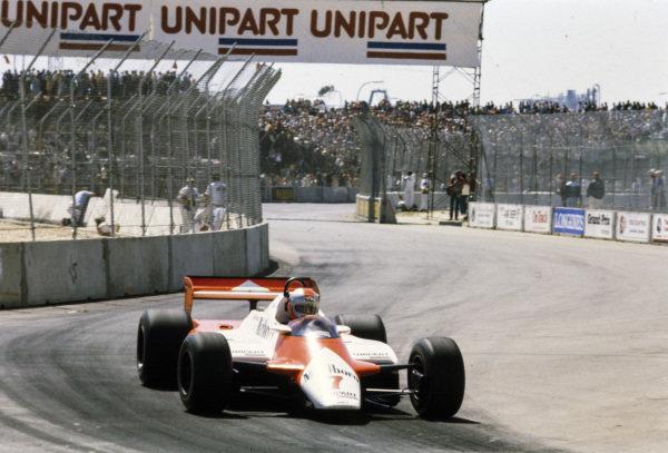 John Watson, McLaren MP4-1B Ford.