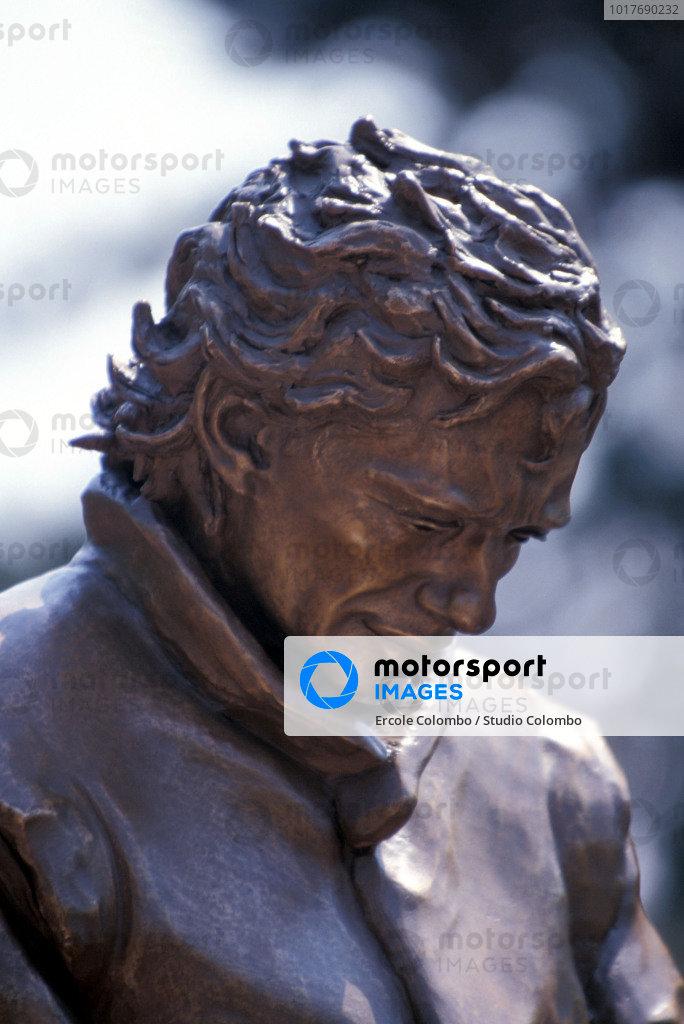 The Ayrton Senna memorial outside of Imola.