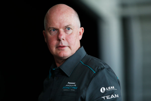 Jaguar Racing Official Formula E Launch Jaguar Heritage Collections Centre, Gaydon, UK Thursday 8 September 2016 Craig Wilson (Managing Director, Williams Advanced Engineering). World Copyright: Andrew Ferraro/LAT Photographic ref: Digital Image _FER6615