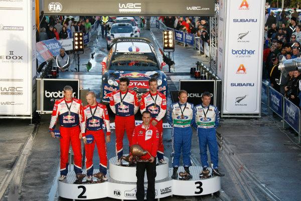 Round 7, Rally New Zealand, 21st-24th June 2012Podium
