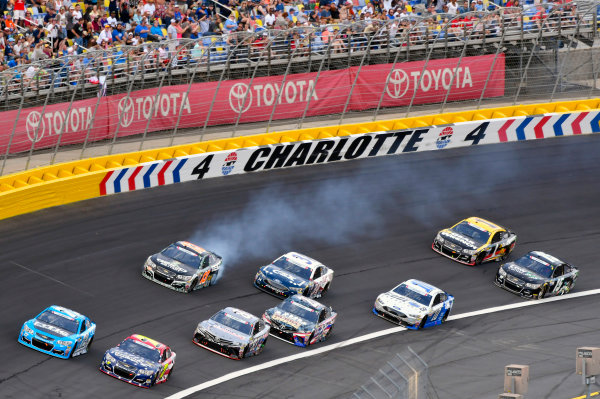 Monster Energy NASCAR Cup Series Coca-Cola 600 Charlotte Motor Speedway, Concord, NC USA Sunday 28 May 2017 Ty Dillon, Germain Racing, GEICO Military Chevrolet SS World Copyright: Nigel Kinrade LAT Images ref: Digital Image 17CLT2nk08814