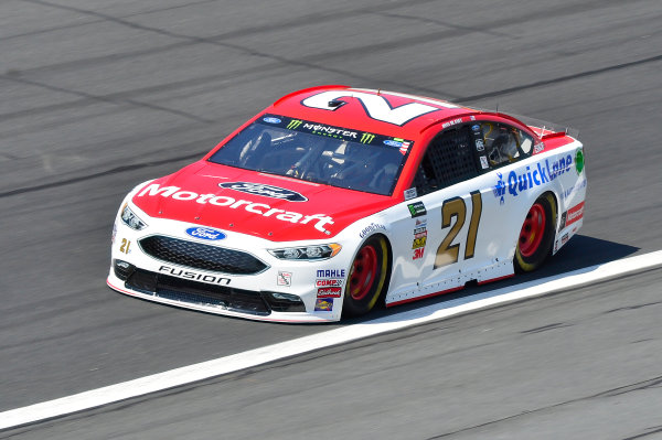 Monster Energy NASCAR Cup Series Monster Energy NASCAR All-Star Race Charlotte Motor Speedway, Concord, NC USA Friday 19 May 2017 Ryan Blaney, Wood Brothers Racing, Motorcraft/Quick Lane Tire & Auto Center Ford Fusion World Copyright: John K Harrelson LAT Images ref: Digital Image 17CLT1jh_02431