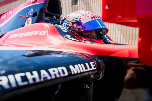 2017 FIA Formula 2 Round 2. Circuit de Catalunya, Barcelona, Spain. Friday 12 May 2017. Nobuharu Matsushita (JPN, ART Grand Prix)  Photo: Zak Mauger/FIA Formula 2. ref: Digital Image _56I7643