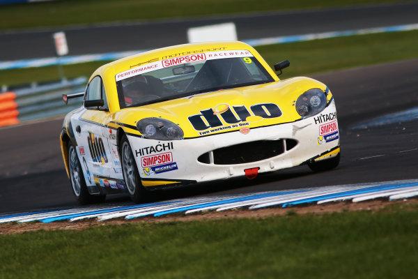 2017 Ginetta GT4 Supercup, Donington Park, 15th-16th April 2017 Jordan Collard HHC Motorsport Ginetta Junior World copyright. JEP/LAT Images