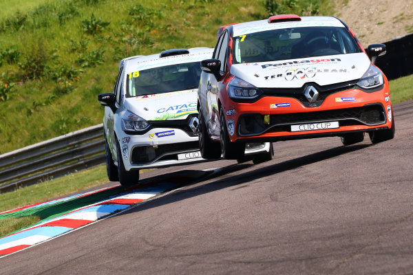 2017 Renault Clio Cup Thruxton, 6th-7th May 2017,  James Colburn (GBR) PP Motorsport Renault Clio Cup World copyright. JEP/LAT Images