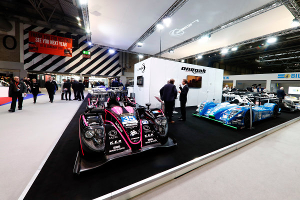 Autosport International Exhibition. National Exhibition Centre, Birmingham, UK. Thursday 11th January 2018. The Ligier stand.World Copyright: Glenn Dunbar/LAT Images Ref: _31I1986