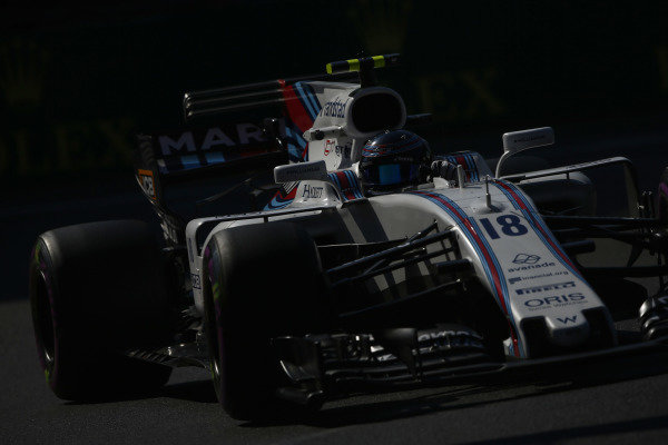 Circuit of the Americas, Austin, Texas, United States of America. Friday 27 October 2017. Lance Stroll, Williams FW40 Mercedes.  World Copyright: Andy Hone/LAT Images  ref: Digital Image _ONZ0255