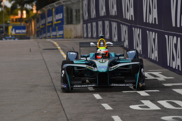 2017/2018 FIA Formula E Championship. Round 1 - Hong Kong, China. Saturday 02 December 2018. Oliver Turvey (GBR), NIO Formula E Team, NextEV NIO Sport 003. Photo: Mark Sutton/LAT/Formula E ref: Digital Image DSC_8486