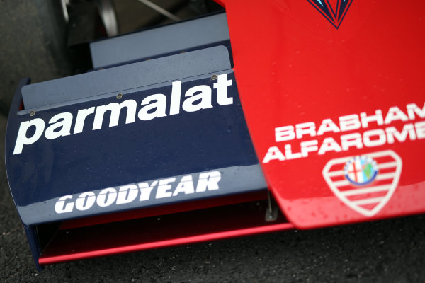 2017 Goodwood Festival of Speed. Goodwood Estate, West Sussex, England. 30th June - 2nd July 2017. Brabham Alfa Romeo  World Copyright : JEP/LAT Images