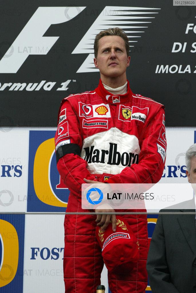 2003 San Marino Grand Prix - Sunday Race,