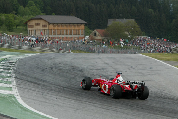 2003 Austrian Grand Prix - Sunday Race,