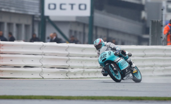 2015 Moto3 Championship.  British Grand Prix.  Silverstone, England. 28th - 30th August 2015.  Danny Kent, Honda.  Ref: KW7_8482a. World copyright: Kevin Wood/LAT Photographic