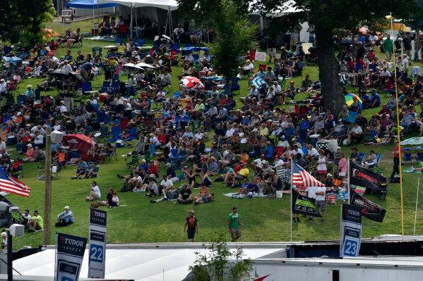 24-25 July, 2015, Lakeville, Connecticut USA Atmosphere, IMSA TUDOR flags ?2015 Scott R LePage  LAT Photo USA