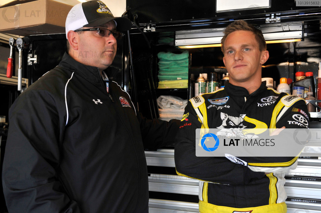11-12 April, 2013, Fort Worth, Texas USA Parker Kligerman and Eric Phillips ©2013, Nigel Kinrade LAT Photo USA