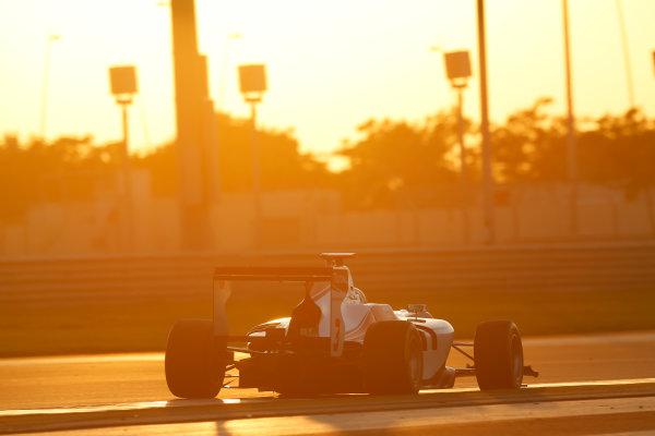 2014 GP3 Series Test 3.   Yas Marina Circuit, Abu Dhabi, United Arab Emirates. Saturday 29 November 2014. Alfonso Celis Jr (MEX, ART Grand Prix)  Photo: Sam Bloxham/GP3 Series Media Service. ref: Digital Image _14P2987