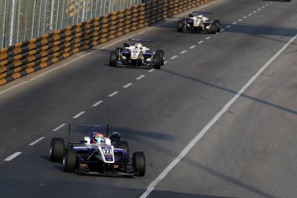 2015 Macau Formula 3 Grand Prix Circuit de Guia, Macau, China 18th - 22nd November 2015 Chang Wing Chung (MAC) Fortec Motorsport Dallara Mercedes World Copyright: XPB Images/LAT Photographic ref: Digital Image 2015-Macau-F3-AT2-3602