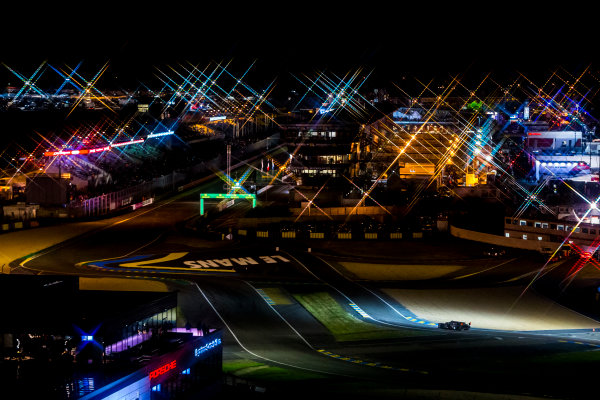 2016 Le Mans 24 Hours. Circuit de la Sarthe, Le Mans, France. Sunday 19 June 2016. A view of the Ford Chicane and start/finish straight during the race. World Copyright: Zak Mauger/LAT Photographic ref: Digital Image _79P8375