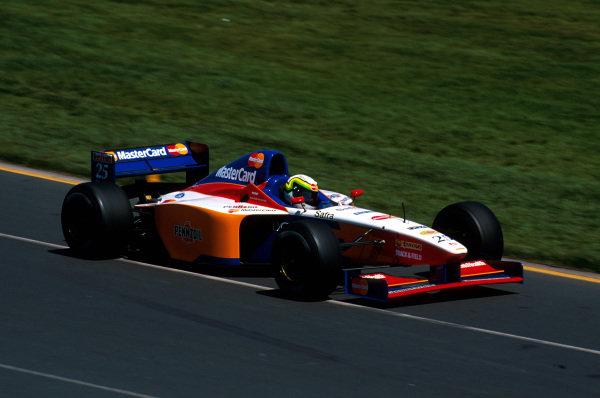 Albert Park, Melbourne, Australia.7-9 March 1997.Ricardo Rosset (Lola T97/30 Ford) did not qualify.Ref-97 AUS 09.World Copyright - LAT Photographic