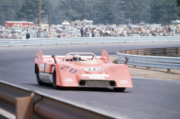 1971 Can-Am Challenge Cup.CanAm race. Watkins Glen, New York State, United States (USA). 25 July 1971.Jo Siffert (Porsche 917/10), 3rd position.World Copyright: LAT PhotographicRef: 35mm transparency 71CANAM20