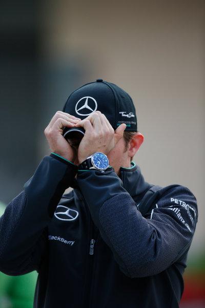 2014 F1 Pre Season Test 2 - Day 3 Bahrain International Circuit, Bahrain. Saturday 22 February 2014. Nico Rosberg, Mercedes AMG. World Copyright: Glenn Dunbar/LAT Photographic. ref: Digital Image _W2Q4688