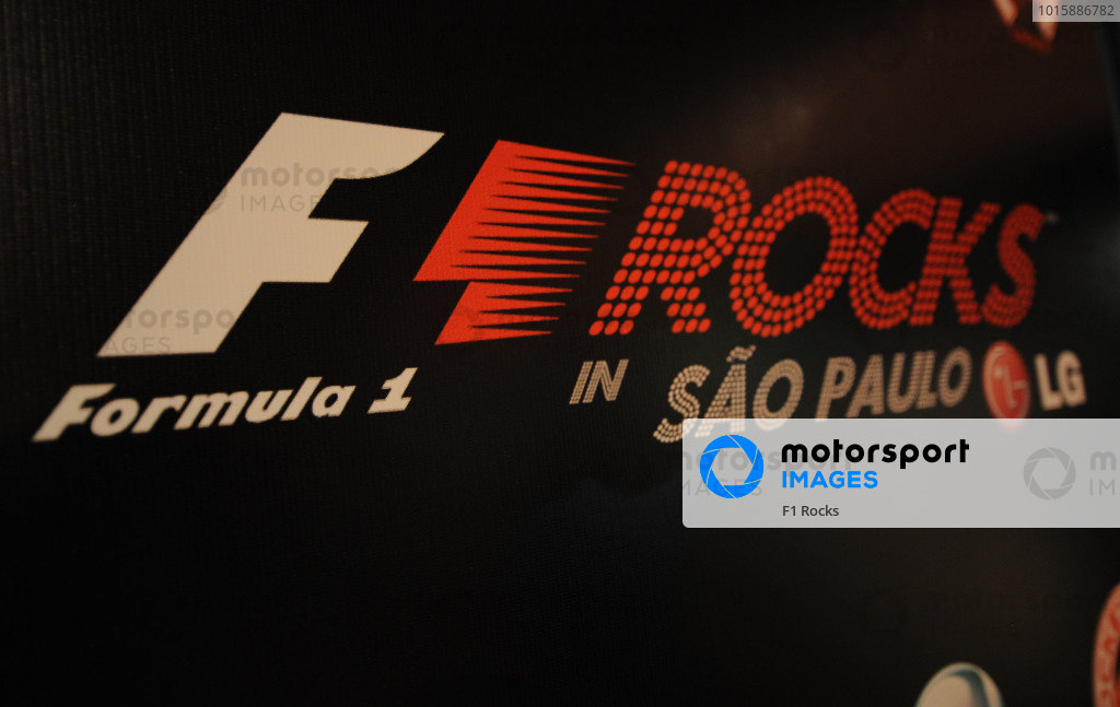 F1 Rocks With LG in Sao Paulo