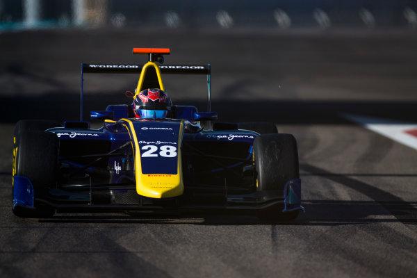 2016 GP3 Series Test 5. Yas Marina Circuit, Abu Dhabi, United Arab Emirates. Wednesday 30 November 2016. Steijn Schothorst (NED, DAMS)  Photo: Sam Bloxham/GP3 Series Media Service. ref: Digital Image _SLA1382