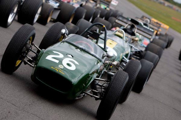 Snetterton, Norfolk. UK. 20th June 2010.Historic Team Lotus F1 Cars. World Copyright: Alastair Staley/LAT PhotographicDigital Image _O9T1602 jpg
