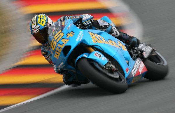 Germany Sachsenring 16-18 July 2010Loris Capirossi Rizla Suzuki