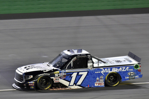 #17: Tyler Ankrum, DGR-Crosley, Toyota Tundra Academy Sports + Outdoors / RAILBLAZA