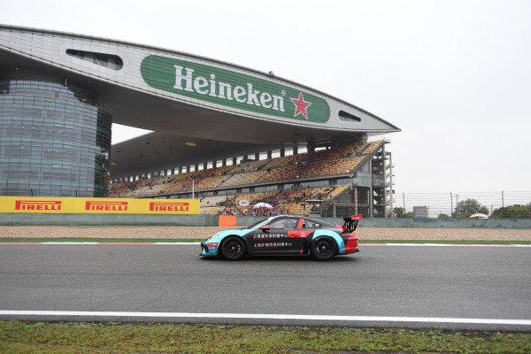 Bo Juan (CHN) Porsche Waigaoqiao and Pudong at Porsche Carrera Cup Asia, Shanghai, China, 13-15 April 2018.
