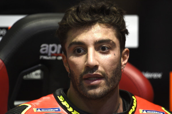 Andrea Iannone, Aprilia Racing Team Gresini.