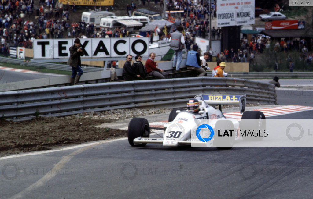 1983 Belgian Grand Prix.Spa-Francorchamps, Belgium.20-22 May 1983.Thierry Boutsen (Arrows A6 Ford) on his Grand Prix debut.World Copyright - LAT Photographic