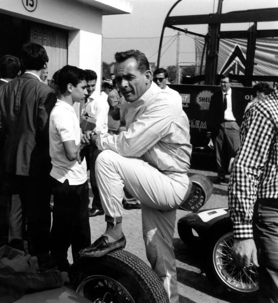 Phil Hill (USA) Ferrari finished third. Monaco Grand Prix, Monte Carlo, 14 May 1961.